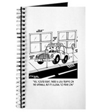 Driving on the Sidewalk Journal