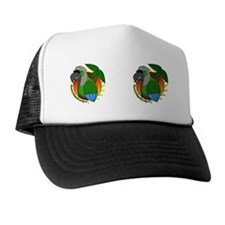 cartoon_greencheek_mug Trucker Hat