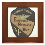 Minneapolis PD E.R.U. Framed Tile