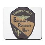 Minneapolis PD E.R.U. Mousepad