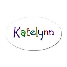 Katelynn Play Clay 35x21 Oval Wall Decal