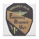 Minneapolis PD E.R.U. Tile Coaster