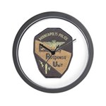 Minneapolis PD E.R.U. Wall Clock