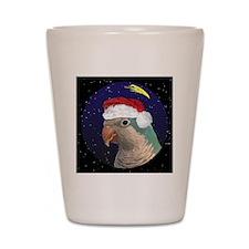 christmasnight_quaker_blue2 Shot Glass