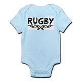 Cute Rugby varsity Infant Bodysuit