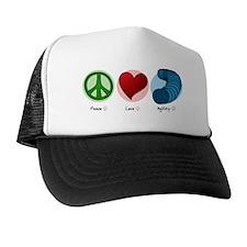 peaceloveagility Trucker Hat