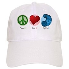 peaceloveagility Baseball Cap
