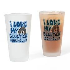 bluetick_animelove Drinking Glass