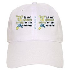 agility-favoriteletter_mug Baseball Cap