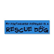 sticker_rescue_portpodengo Car Magnet 10 x 3