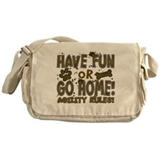 havefun_agility Messenger Bag