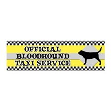 bloodhound_taxi_bumper Wall Decal
