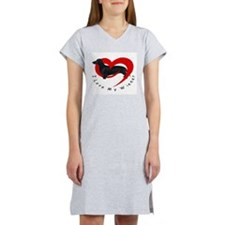 I-love-my-wiener Women's Nightshirt