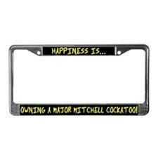 HI Owning Major Mitchell License Plate Frame