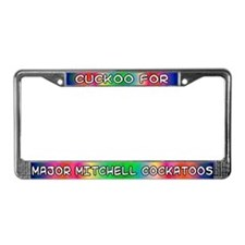Cuckoo for MM Cockatoos License Plate Frame