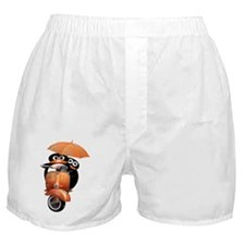 penguin-ver2-wide-blacka Boxer Shorts
