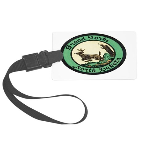 grand-forks-235 Large Luggage Tag
