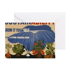 3f05737u-sustainability Greeting Card