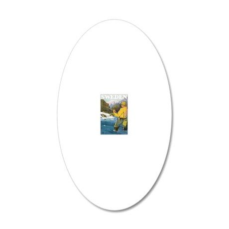 102 20x12 Oval Wall Decal