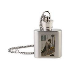 069 Flask Necklace