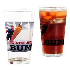 snow2-2000x2000-bum Drinking Glass
