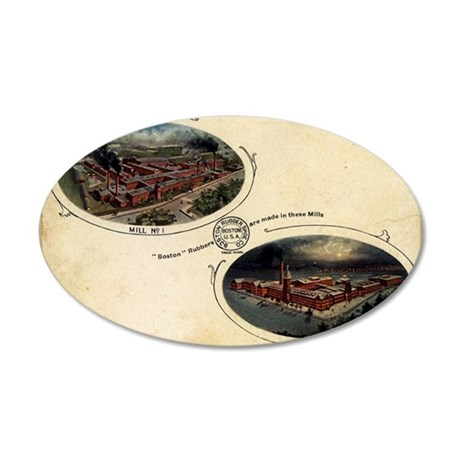 boston-rubber-2 35x21 Oval Wall Decal