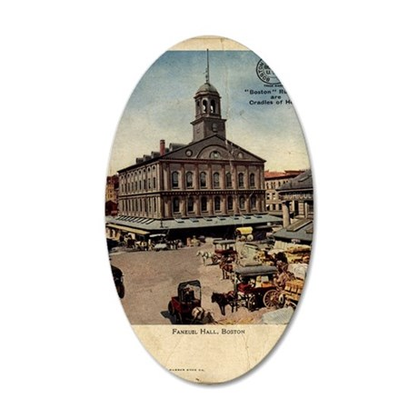 boston-rubber 35x21 Oval Wall Decal