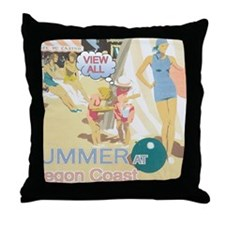 summer-section Throw Pillow