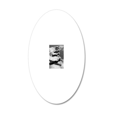 cafe-40s-14 20x12 Oval Wall Decal