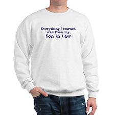 Son In Law : Everything Sweatshirt