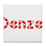 Denzel - Candy Cane Tile Coaster