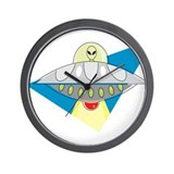 Cool UFO Wall Clock