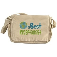 Earths Best Receptionist Messenger Bag