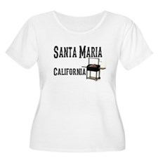 Santa Maria Style BBQ Plus Size T-Shirt