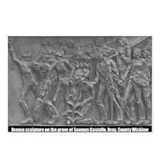 Seamus Costello Sculpture Postcards (8)