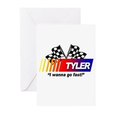 Racing - Tyler Greeting Cards (Pk of 10)