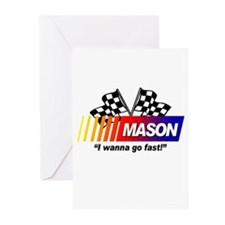Racing - Mason Greeting Cards (Pk of 10)