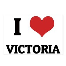 VICTORIA Postcards (Package of 8)