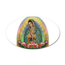 Guadalupe Yellow Aura Wall Decal