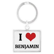 BENJAMIN Landscape Keychain