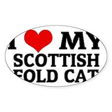 SCOTTISH FOLD CAT Decal