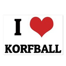 KORFBALL Postcards (Package of 8)
