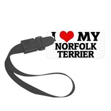 NORFOLK TERRIER Luggage Tag
