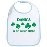 Danica is my lucky charm Bib