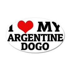 ARGENTINE DOGO Wall Decal