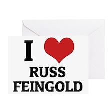 RUSS FEINGOLD Greeting Card