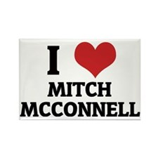MITCH MCCONNELL Rectangle Magnet
