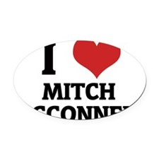 MITCH MCCONNELL Oval Car Magnet