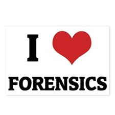FORENSICS Postcards (Package of 8)