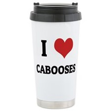 CABOOSES Ceramic Travel Mug